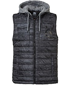 Men's Flyknit Quilted Hooded Vest