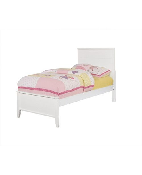 Coaster Home Furnishings Chevy Twin Bed with Framing Details