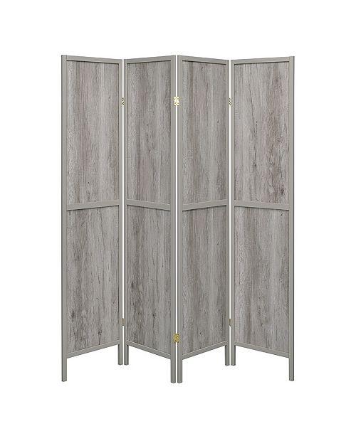 Coaster Home Furnishings Hyde 4-Panel Folding Screen