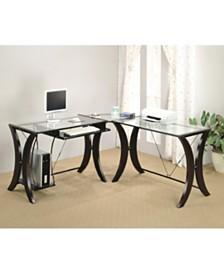 Marietta 3-Piece L-Shape Computer Desk Set