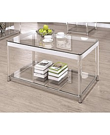 Riverside Rectangular Coffee Table with Shelf