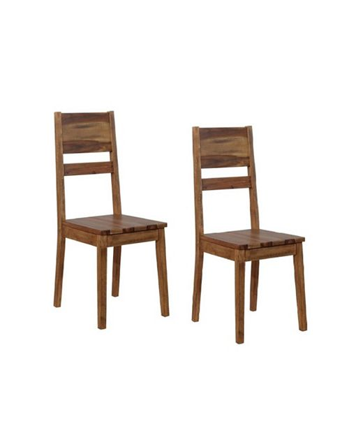 Coaster Home Furnishings Brittaney Ladder Back Dining Chairs (Set of 2)