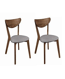 Bernardo Upholstered Dining Chairs (Set of 2)