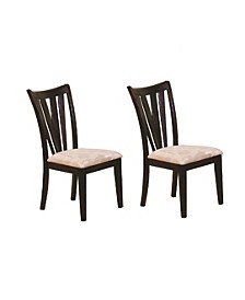 Angus Vertical Slat Side Chairs Deep (Set of 2)