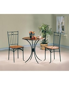 Alessio 3-Piece Bistro Dining Set