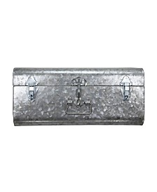 Hillard Large Galvanized Silver Case