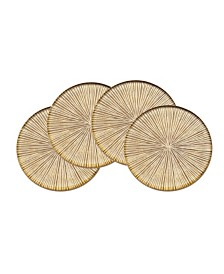 Godinger Luxe Dax Coasters - Set of 4
