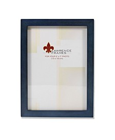 """Blue Wood Picture Frame - Gallery Collection - 5"""" x 7"""""""