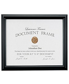 "185081 Black Document Picture Frame - 8.5"" x 11"""