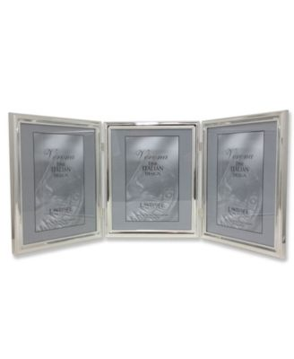 Lawrence Frames Silver Standard Metal 4 Opening Picture Frame