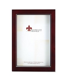 "795146 Espresso Wood Treasure Box Shadow Box Picture Frame - 4"" x 6"""