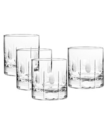 Gulfstream Double Old Fashioned Glasses, Set Of 4