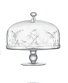 Sylvan Cake Stand and Dome