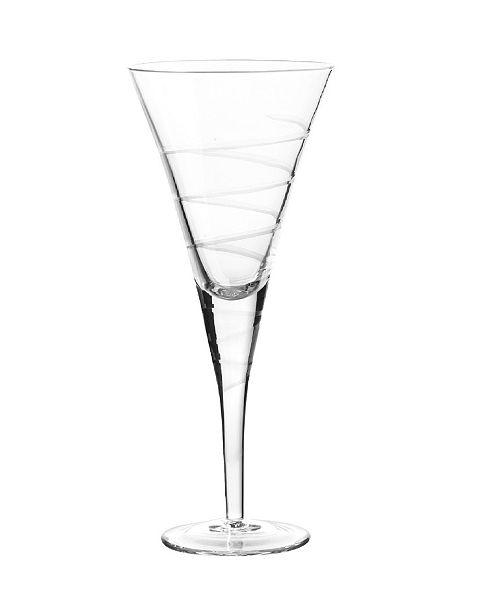 Qualia Glass Vortex Goblets, Set Of 4