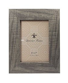 """Lawrence Frames Weathered Gray Halloway Picture Frame - 4"""" x 6"""""""