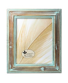 "Lawrence Frames Weathered Wood with Verdigris Wash Picture Frame - 8"" x 10"""