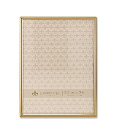 """Lawrence Frames Simply Gold Metal Picture Frame - 3.5"""" x 5"""""""