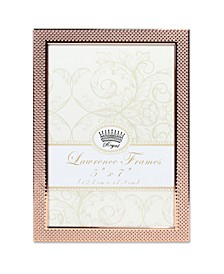 """Fawn Pin Dot Pattern Copper Picture Frame - 5"""" x 7"""""""