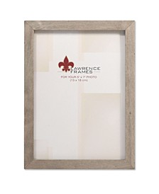 """Gray Wood Picture Frame - Gallery Collection - 5"""" x 7"""""""