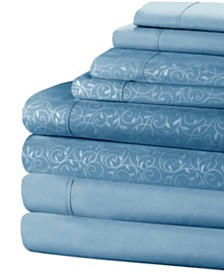 Home Dynamix NY Loft 8-Piece King Soft Microfiber Multi-Set Sheet Set