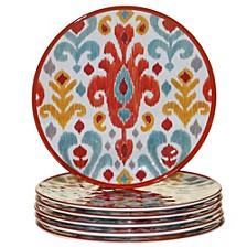 Bali Melamine 6-Pc. Salad Plate Set
