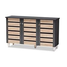 Gisela 3-Door Cabinet, Quick Ship