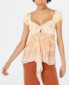 Free People La Bamba Babydoll Top