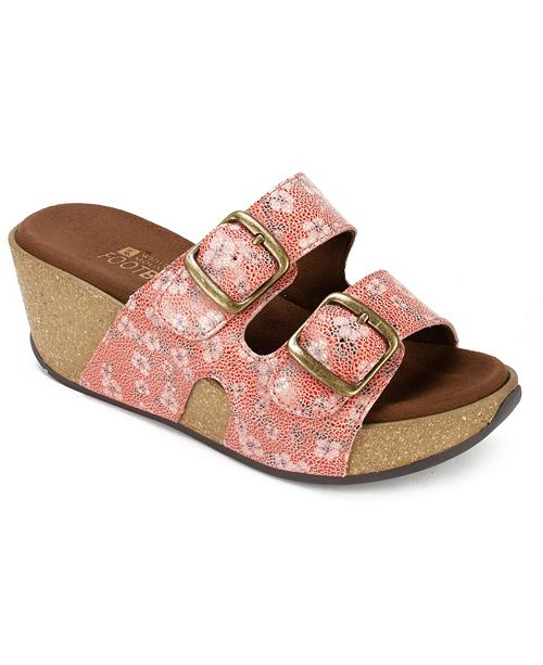 White Mountain Chandler Wedge Sandals Amp Reviews Sandals