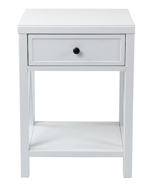 East At Main Wilco Acacia Accent Table