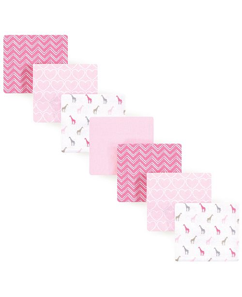 Luvable Friends Flannel Receiving Blanket, 7 Pack, One Size