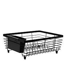 Kitchen Details Flat Wire Dish Rack