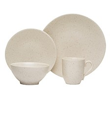 Oatmeal 16-piece Dinner Set