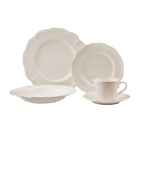 Red Vanilla Classic 20-piece Place Setting