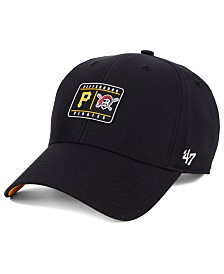 '47 Brand Pittsburgh Pirates Silicone Patch MVP Adjustable Cap