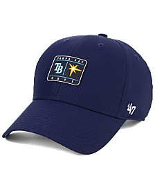 '47 Brand Tampa Bay Rays Silicone Patch MVP Adjustable Cap