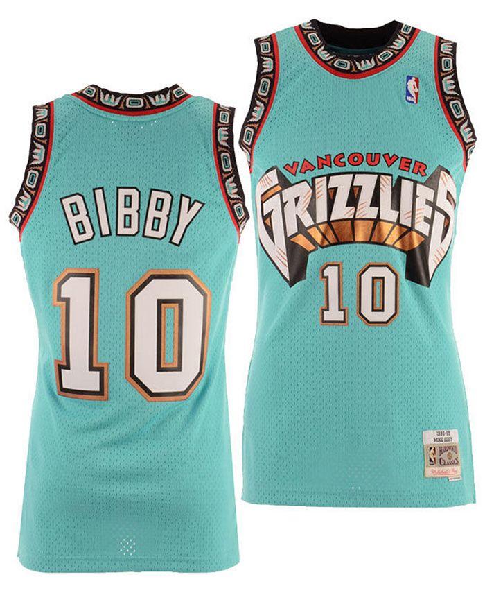 Big Boys Mike Bibby Vancouver Grizzlies Hardwood Classic Swingman Jersey
