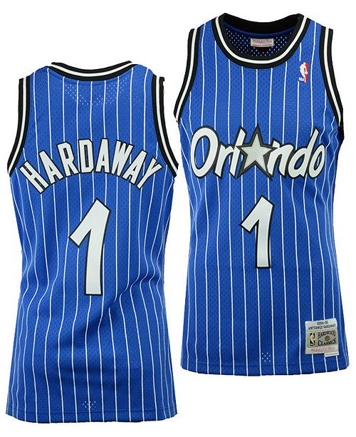 check out ffd7f 69949 Big Boys Penny Hardaway Orlando Magic Hardwood Classic Swingman Jersey