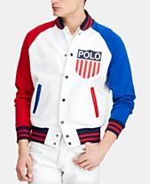 327ab790eee1 Polo Ralph Lauren Men's Polo Shield Chariots Baseball Jacket