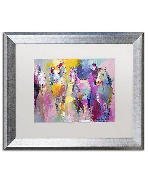 """Trademark Global Richard Wallich 'Wild' Matted Framed Art - 20"""" x 16"""" x 0.5"""""""