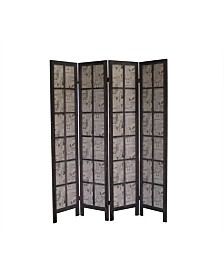 Proman Products Paris Folding Privacy Divider Screen