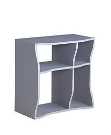 Proman Products Wave Tall Shelf 3-Piece Set