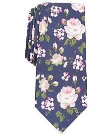 Bar III Men's Walden Floral Skinny Tie, Created for Macy's
