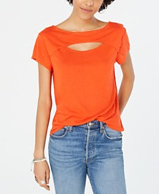 Free People June Cutout T-Shirt