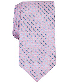 Club Room Men's Sailboats Silk Tie, Created for Macy's