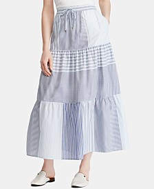 Lauren Ralph Lauren Graphic Peasant Skirt