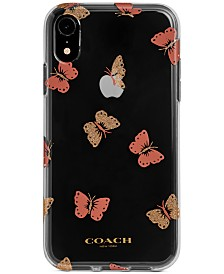 COACH Butterfly Print iPhone XR Case