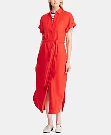 Lauren Ralph Lauren Linen Shirtdress