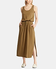 Lauren Ralph Lauren Scoop Neck Maxidress