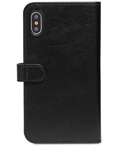 newest cbbb2 40043 iPhone X Leather Folio