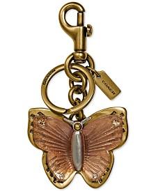 COACH Butterfly Bag Charm